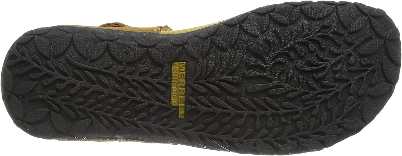Merrell Women's Terran Convert Ii T-Bar Sandals Gold Gold