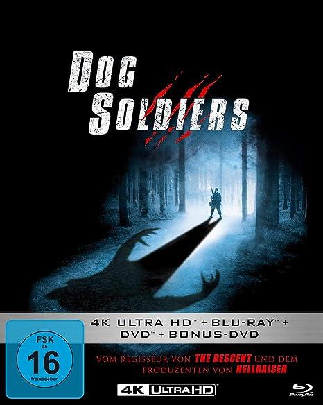 Dog Soldiers - Mediabook  (4K Ultra HD) (  Blu-ray 2D) (  DVD) (  Bonus-DVD)