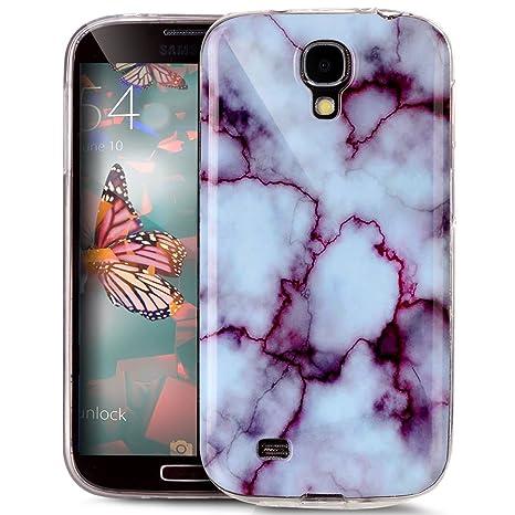 Para Samsung Galaxy S4 funda transparente líquido Plastic ...