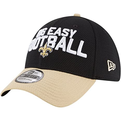 0d4521826e6 New Era New Orleans Saints 2018 NFL Draft Spotlight 39THIRTY Flex Hat - (S