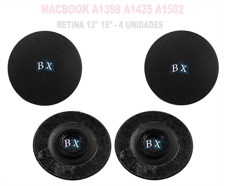 "4x 13/"" 15/"" 17 Macbook A1278 A1286 A1297 Bottom Base Plastic Rubber Foot Feet Pad"