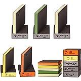 NYXCL 10PCS Sanding Sponge, Coarse/Medium/Fine 5 Different Specifications Sanding Blocks in 60/100/120/180/220 Grit…
