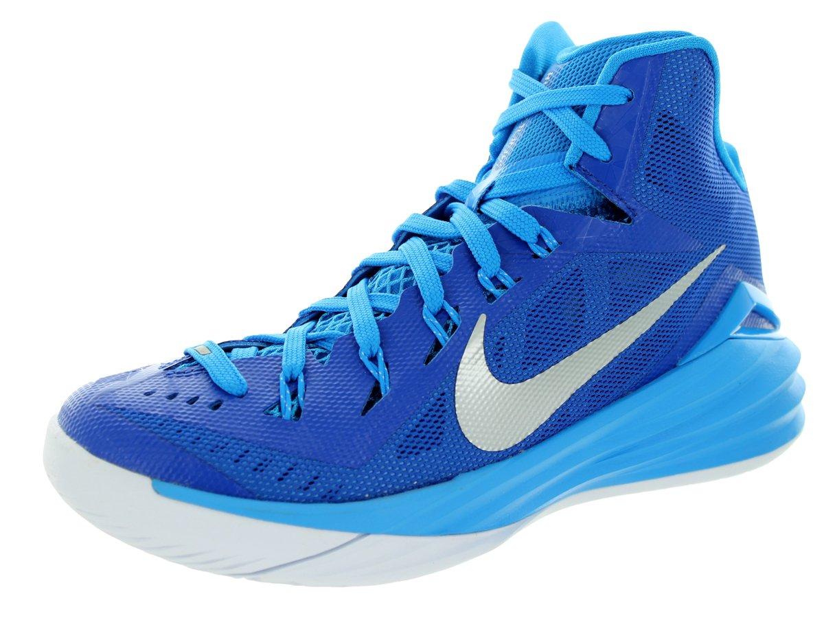Nike Women's Hyperdunk 2014 TB Gm Royal/Mtllc Slvr/Bl HR/Wht Basketball Shoe 6 Women US