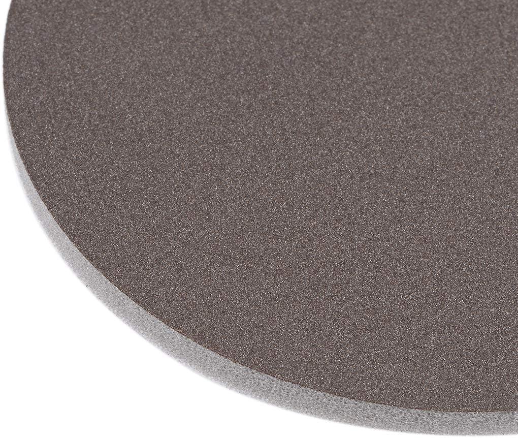 spugna abrasiva tampone asciutto in ossido di alluminio carta vetrata per lucidare e levigare sourcing map 800-Grits Hook and Loop Disco abrasivo