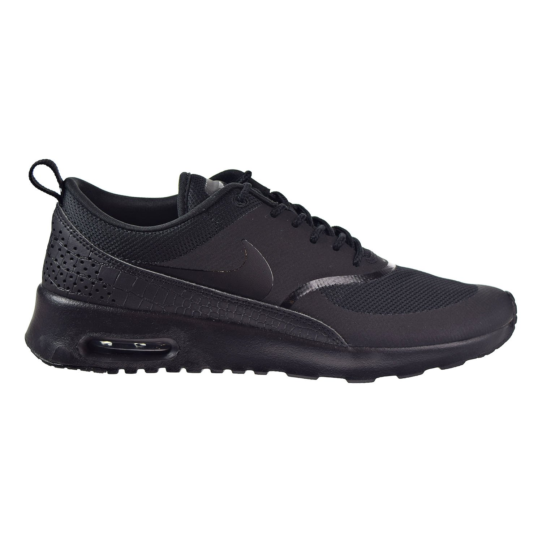 NIKE Women's Air Max Thea Low-Top Sneakers, Black B06W2GK9QB 6.5 B(M) US|Black/Black