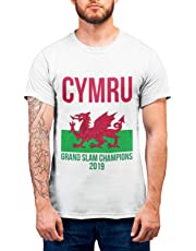 acdbf982e89 Wales Grand Slam T Shirt - Wales Rugby T Shirt Grand Slam 2019 Champions  Welsh Rugby