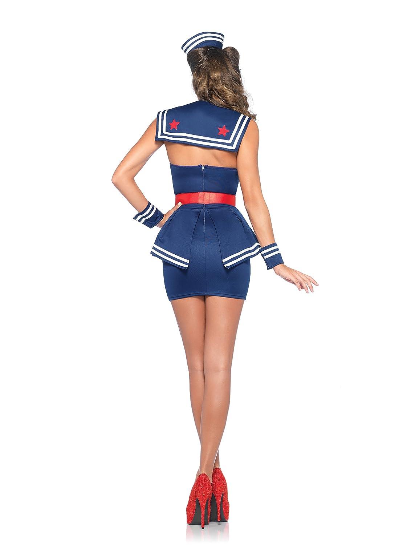 Leg Avenue 85403 - Aye Aye Amy Damen kostüm, kostüm, kostüm, Größe Medium (EUR 38) 51e5d2