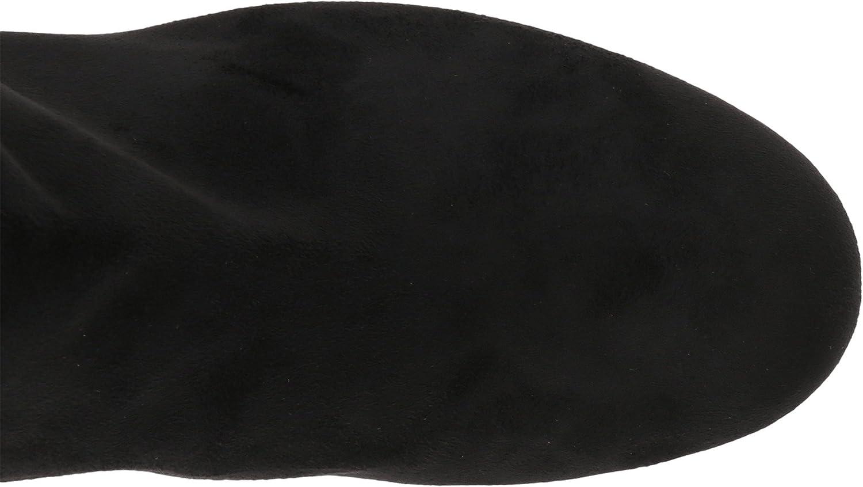 Sam High Edelman Women's Vinney Knee High Sam Boot B06XJKVQLG 8 C/D US|Black Royal Stretch 21d58f