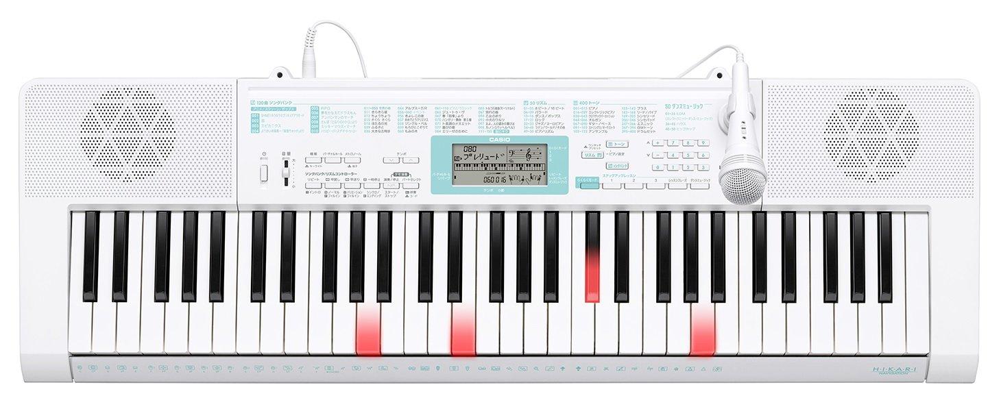 CASIO 61鍵盤 電子キーボード 光ナビゲーション LK-128