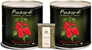 Posardi, Premium Whole Peeled Sardinian Tomatoes, Imported from Sardinia, Italy (One of the Blue Zone regions of the World),