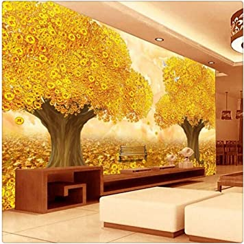 Mural Chinese Golden Ready Source Of Money Mural 3d Stereo Tv Background Bedroom Living Room Wallpaper Mural Wallpaper 200cmx140cm Amazon Com