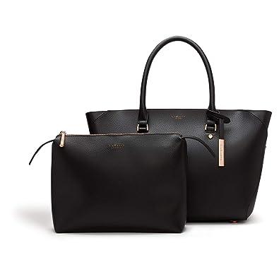 Amazon.com  LaBante - Sophie - Tote Bag for Women - Black Handbag Vegan Leather  Purse Large Tote Bag Briefcase for women  adc3c036ab