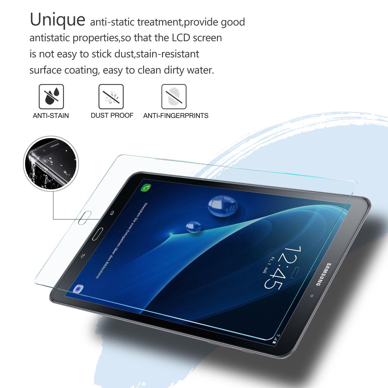 IVSO Prime Protecteur dEcran en Verre Tremp/é pour Samsung Galaxy Tab A 10.1 2016 SM-T580N Tempered Glass - 1 Pack T585N Tablette