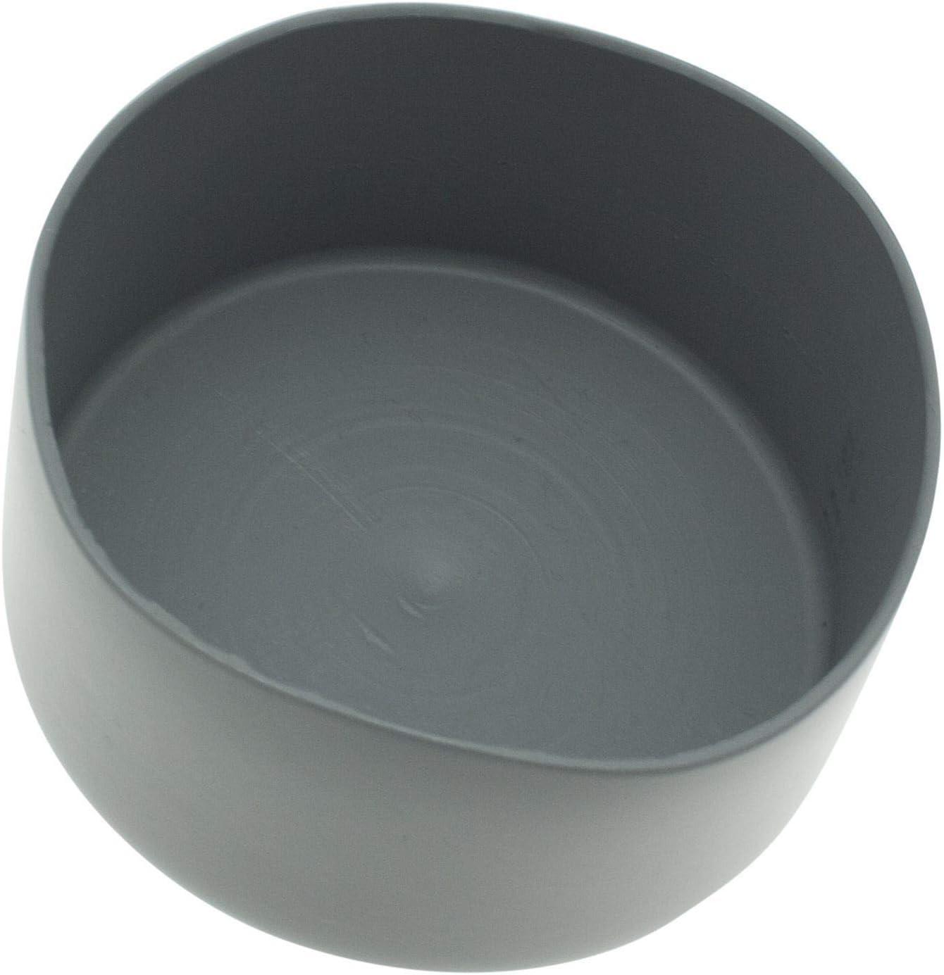 color gris tapas de cubierta Paquete de 5 tapas de PVC para postes tapa de poste LDPE tapa de acabado tapa de extremo tapas de poste
