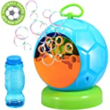 [Upgraded] Bubble Machine for Kids Geekper Automatic Durable Bubble Maker for Kids Over 500 Bubbles per Minute for Outdoor or Indoor Use