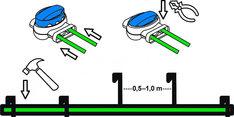 Installations-Set M Ambrogio L30 Kabel Haken Verbinder Installation Paket Kit