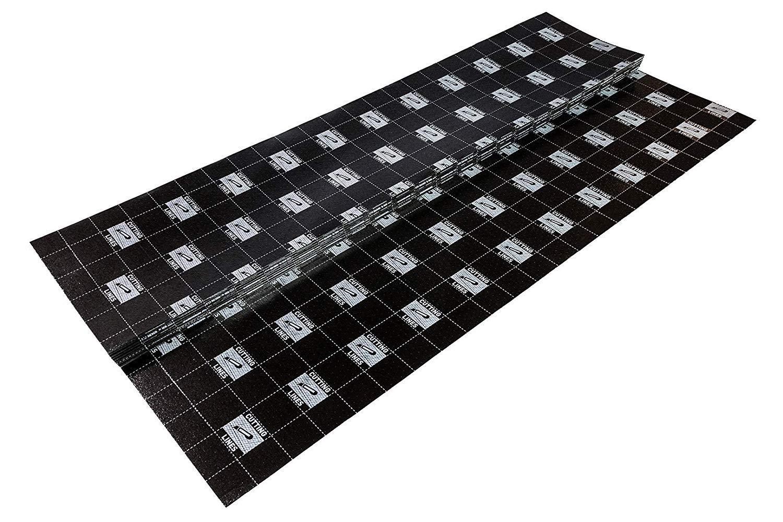 100 m/² Trittschalld/ämmung f/ür Vinylboden Fu/ßbodenheizung Klick Vinyl SECURA LVT