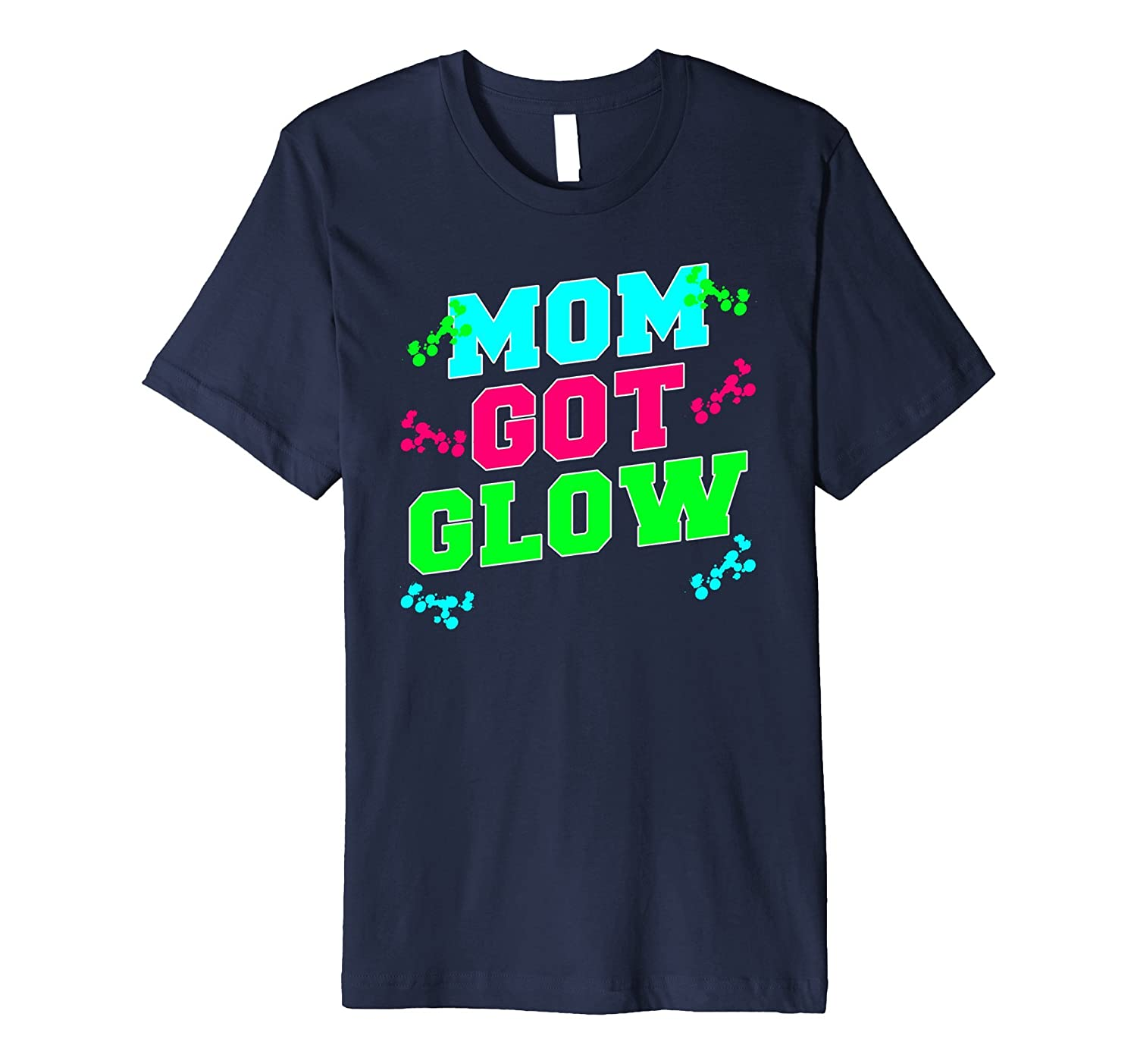 Mom Got Glow Party Kids Birthday Gift T Shirt-FL