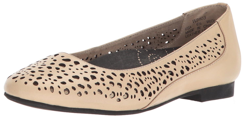 Propét Women's Cicely Flats Shoes B00MUB3892 7 2A(N) US|Bone