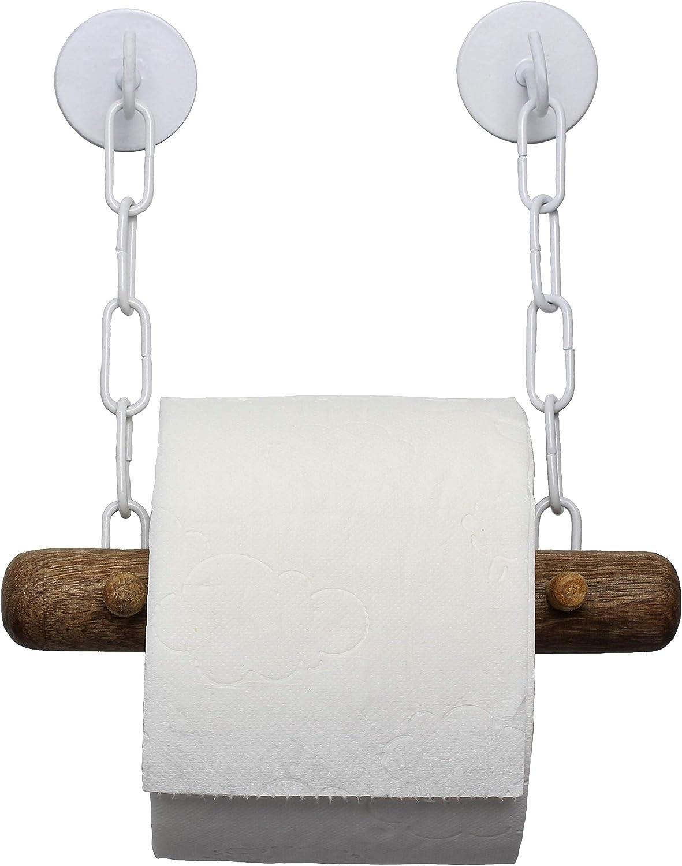 Porta carta igienica aspirante portarotolo di carta per cucina//wc//bagno non necessita di trapano porta carta igienica in acciaio inox