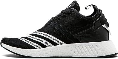 Amazon Com Adidas Womens Nmd R2 Prime Knit Bb2978 Black White 9