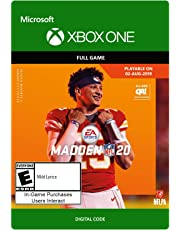 $59 » Madden NFL 20: Standard Edition: (Pre-Purchase) - [Xbox One Digital Code]