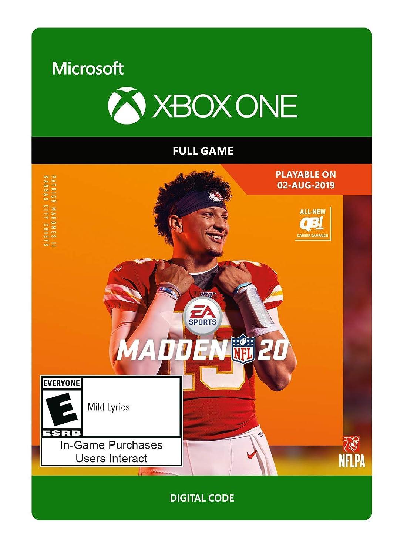 Madden NFL 20 Standard Edition - Xbox One [Digital Code]
