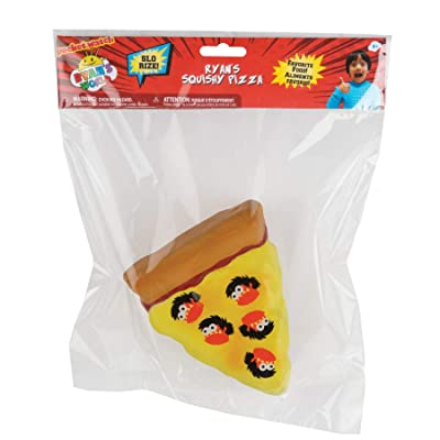 Orb Toys Ryan's World Squishy Pizza, Brown, Yellow, Orange, Black: Toys & Games