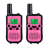 Amazon Price History for:DuaFire Durable Kids Walkie Talkies, 2 Way Radio for Kids Playing Games, Back-lit LCD Screen and Strengthen VOX Free Your Hands (Pair Pink)