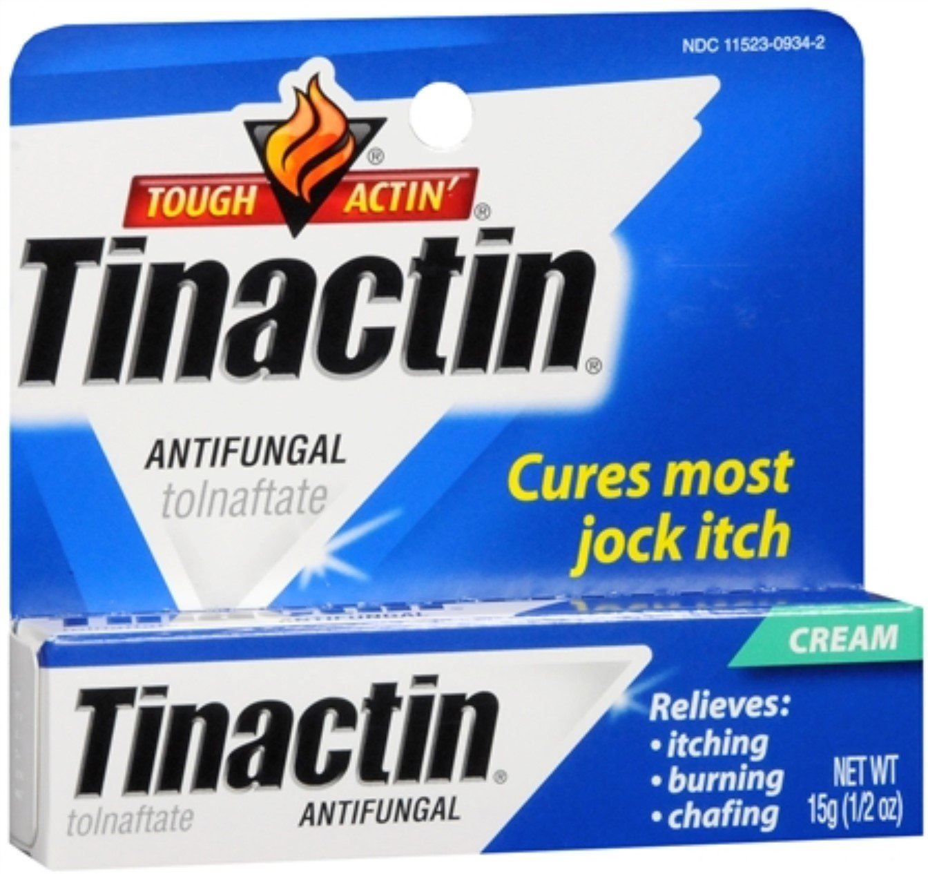 Tinactin Antifungal Cream (Jock-Itch) 0.50 oz (Pack of 4)