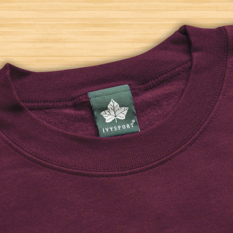 Color Heritage Logo Adult Unisex Ivysport Crewneck Sweatshirt for College