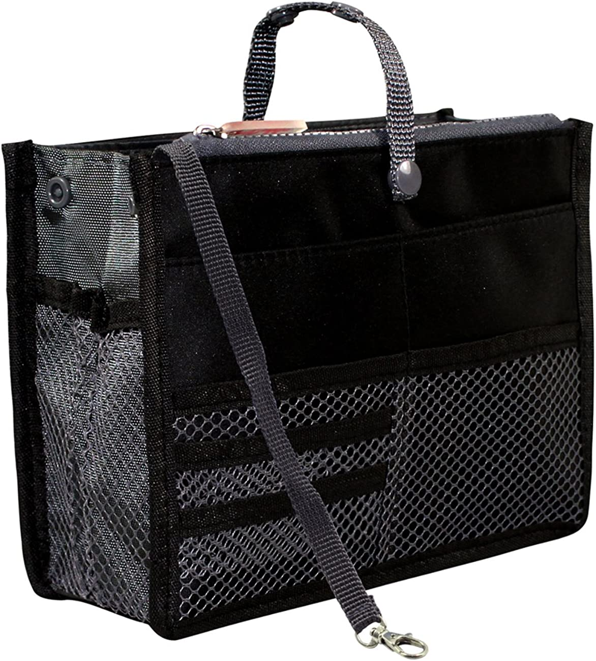 Nifty Patented Handbag Purse Organizer Insert - 18 Compartments