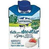 Central Lechera Asturiana - Nata para Montar, 38% de Materia Grasa, Brik de 200 ml