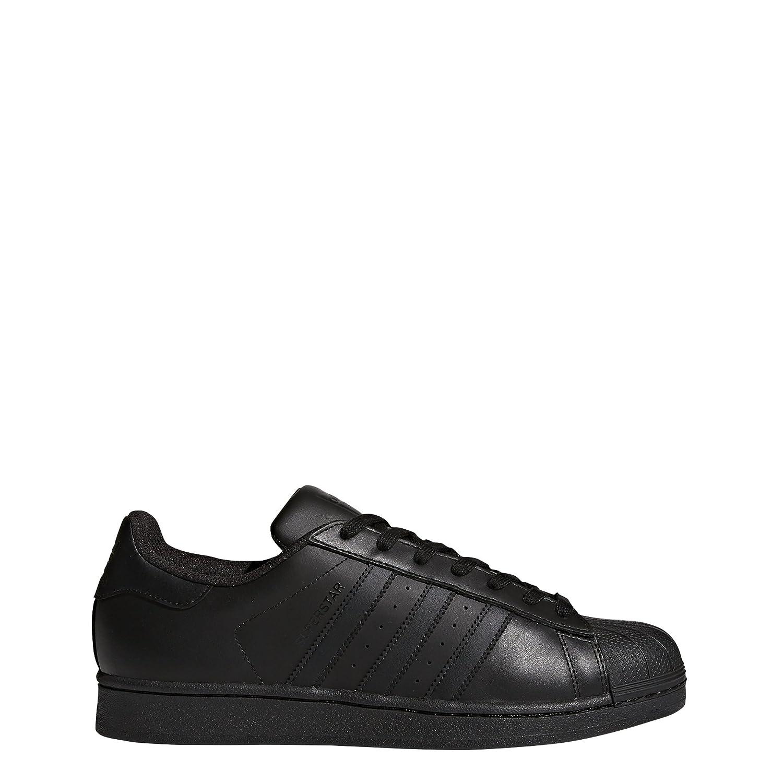 Adidas Originals Superstar, Unisex Adultos Zapatillas Low-Top 46 EU Negro (Black/Black/Black)