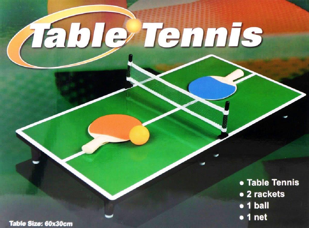 Amazon.com Mini Portable Tabletop Table Tennis (Ping Pong) Game Set Toys u0026 Games & Amazon.com: Mini Portable Tabletop Table Tennis (Ping Pong) Game Set ...