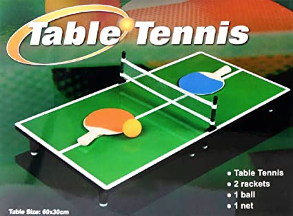 Mini Portable Tabletop Table Tennis (Ping Pong) Game Set & Amazon.com: Mini Portable Tabletop Table Tennis (Ping Pong) Game Set ...