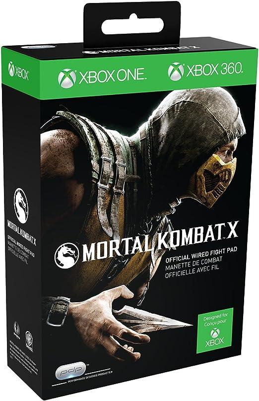 Manette Fight Pad Pdp Pour Xbox One - Mortal Kombat X [Importación Francesa]: Amazon.es: Videojuegos