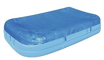 Flowclear™ PE Abdeckplane Für Rechteckigen Family Pool, 305x183x56 Cm, Blau