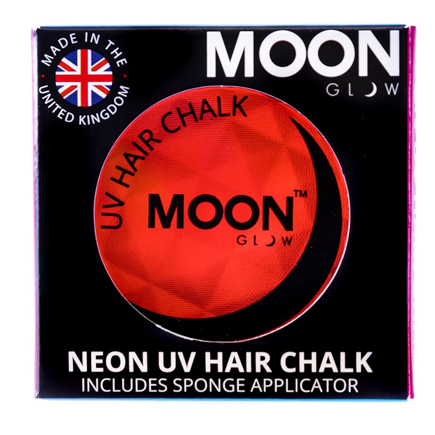 Moon Glow - Neon UV Hair Chalk 3.5g Green – Glows brightly under UV Lighting!