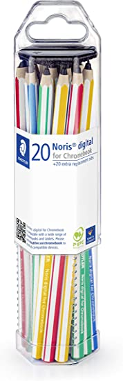 Staedtler Noris Digital EMR stylus Touchscreen 0.07 mm Pencil Yellow Chromebook