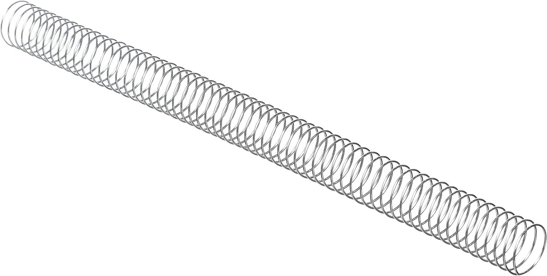 Fellowes ESP006/Spirales m/étalliques pour reliure Pas 5: 1/ 6/mm 59/trous