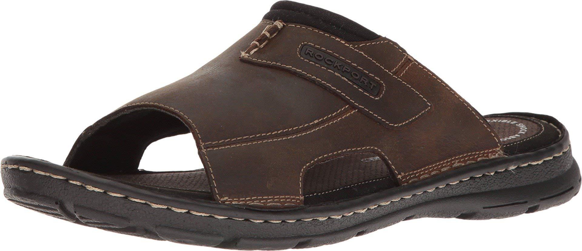 Pick SZ//Color. Rockport Mens Darwyn 2 Slide Sandal