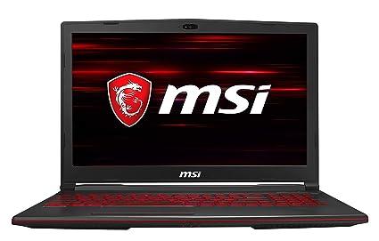 MSI Gaming GL63 8SD-1020IN 2019 15.6-inch Laptop (8th Gen Core i7-8750H/8GB/512GB SSD/Win 10/6GB GTX 1660 Ti Graphics), Black