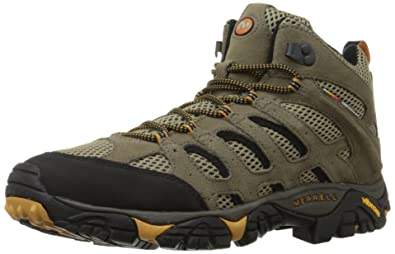 Merrell Men's Moab Ventilator Mid Hiking Boot,Walnut,9 ...