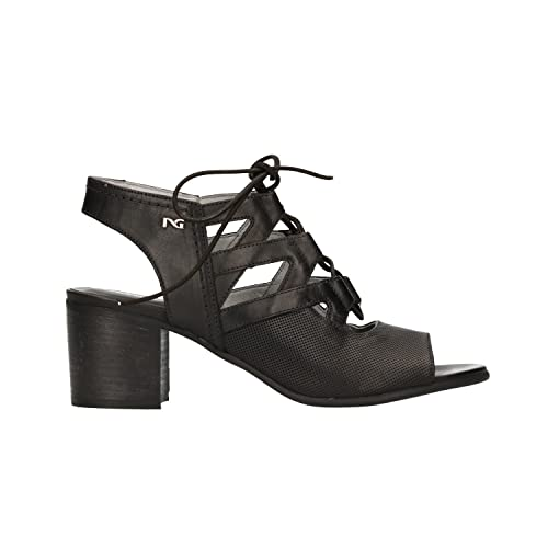 NERO GIARDINI scarpe Sandali stringati nero 5720 scarpe GIARDINI donna mod. P805720D 81c4f2