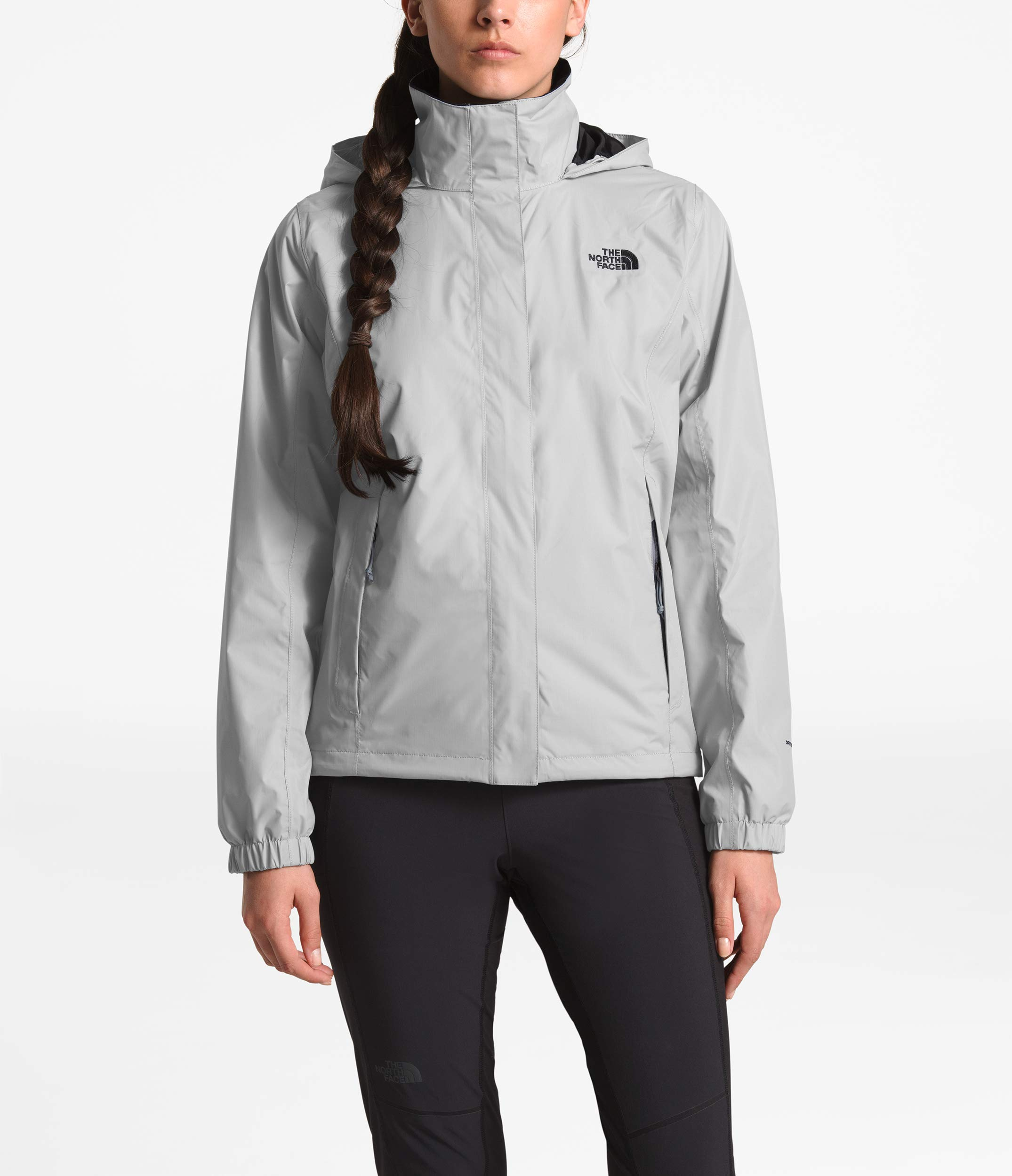 The North Face Women Resolve 2 Jacket - Mid Grey & TNF Black - M by The North Face (Image #5)