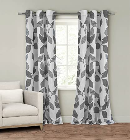 Set Of Two 2 Window Curtain Panels 110quot X 84quot