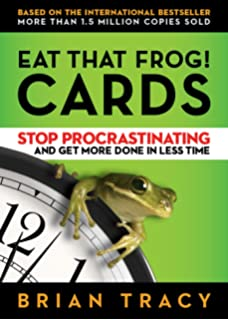 Eat that frog second edition twenty one great ways to stop eat that frog cards stop procrastinating and get more done in less time fandeluxe Gallery