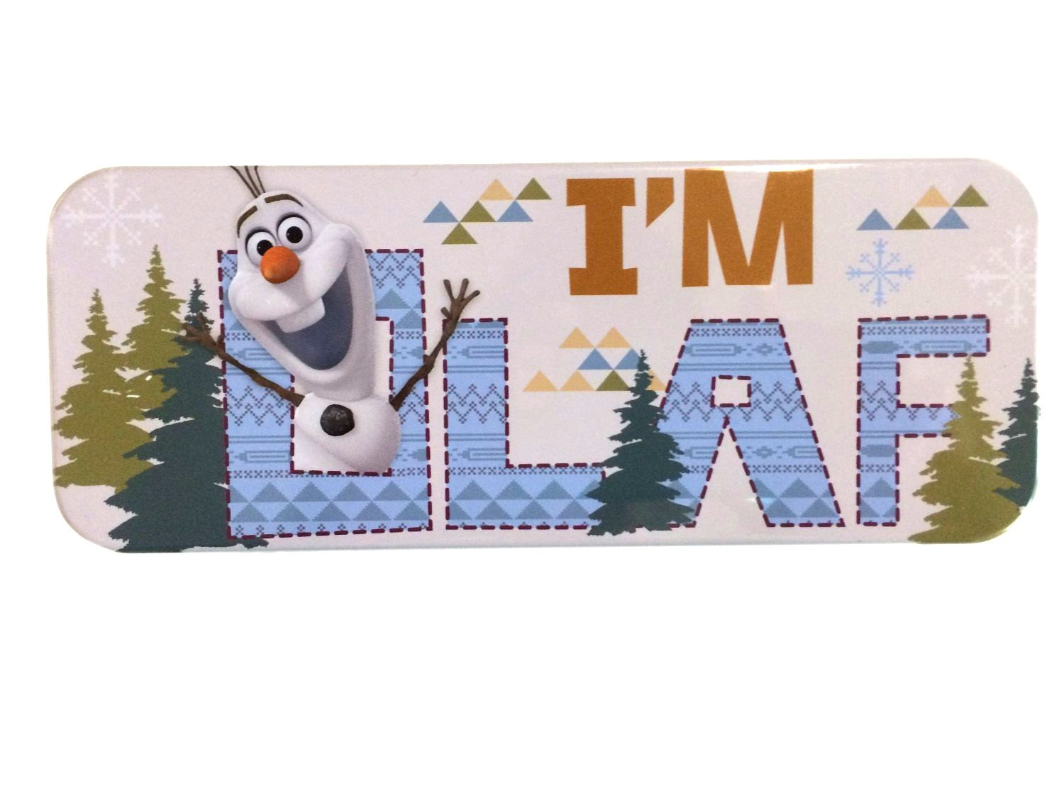 Disney Frozen Olaf Tin Pencil Case