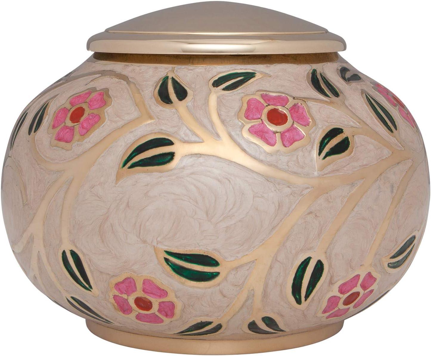 Liliane Memorials Fleur Urns Low Profile 55% OFF White XL Max 88% OFF